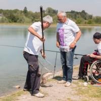 Pesca un Sorriso, 5a edizione ai laghi Cronovilla. VIDEO